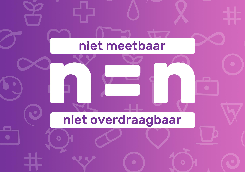 n=n, niet-meetbaar=niet overdraagbaar, Hiv Vereniging
