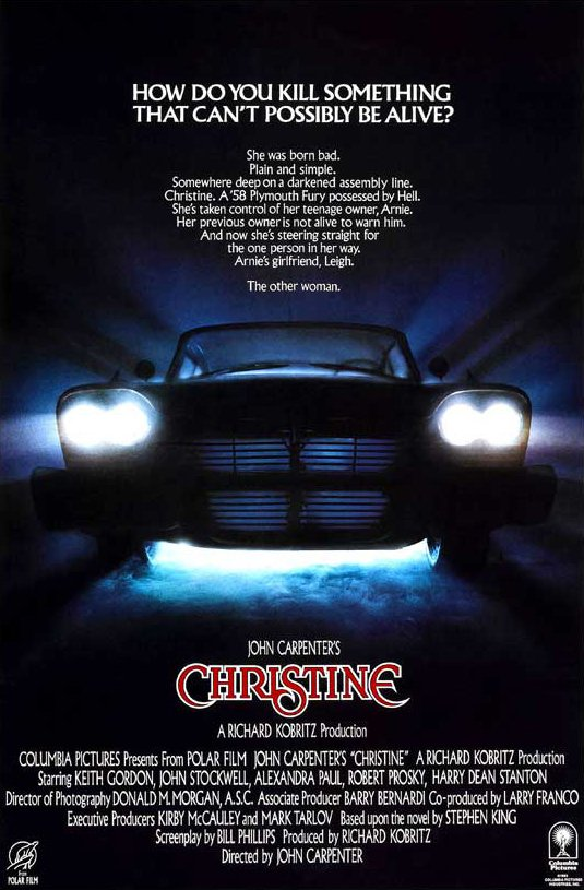 Christine Stephen King filmposter