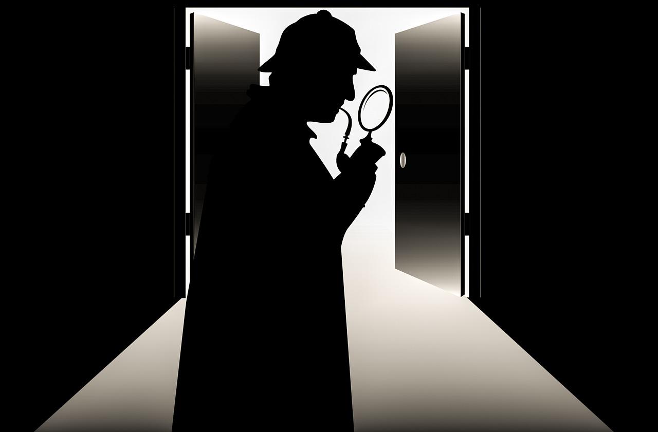 detective loep gebouw