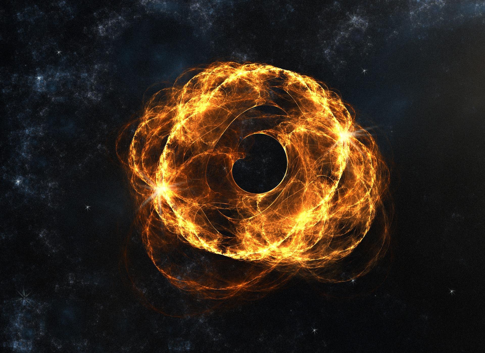 zwart gat ruimte
