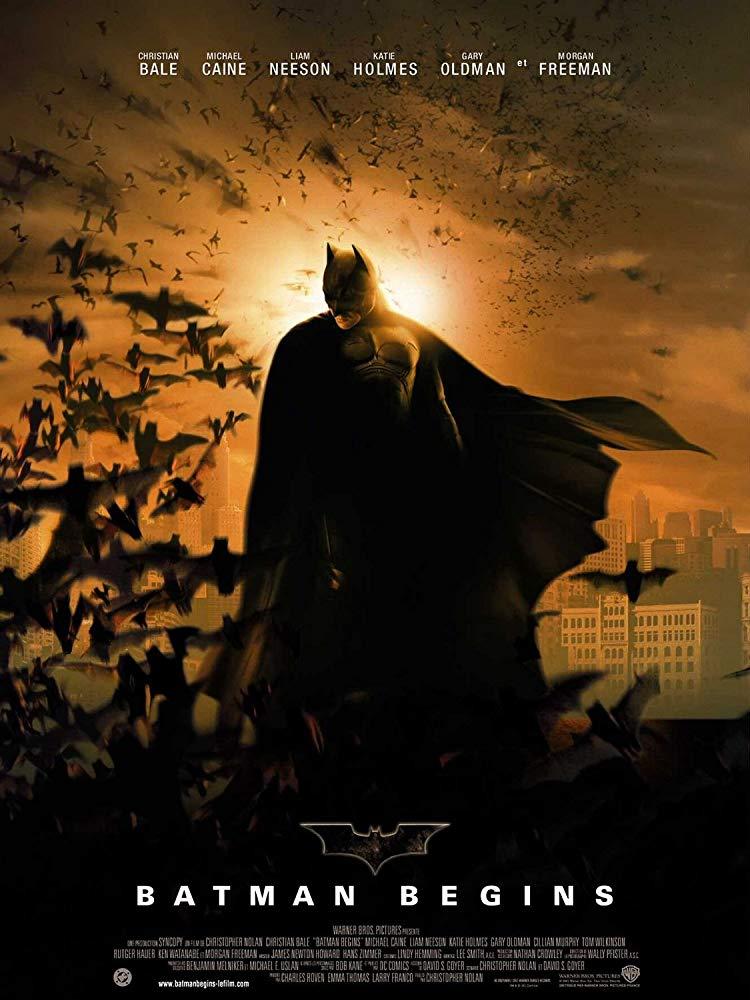 Batman Begins filmposter 2005