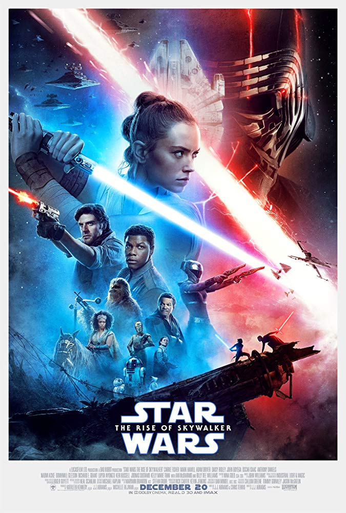 Star Wars Episode IX The Rise of Skywalker 2019 filmposter