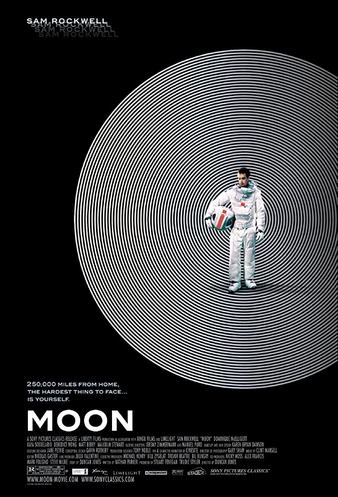 Moon 2009 filmposter