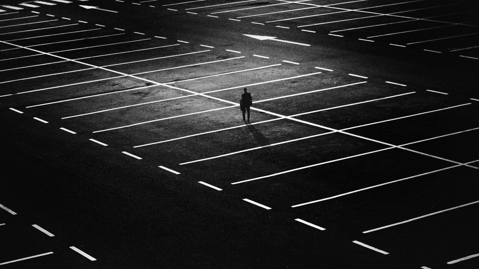 alleen eenzaam